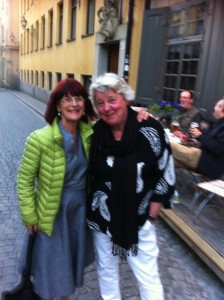 Seminariegeneralerna Marianne Enge Swartz och Lisbeth Stenberg
