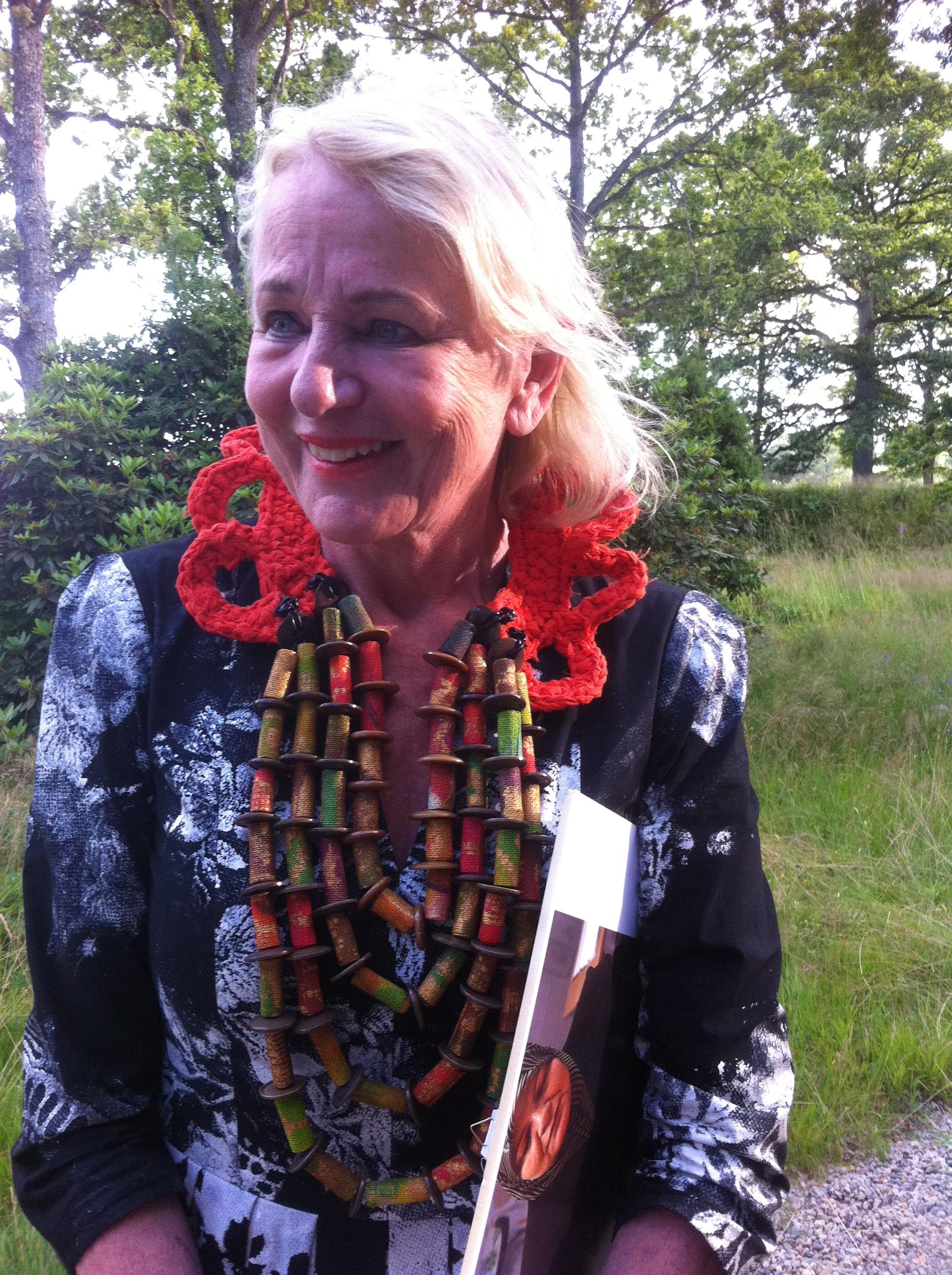 Birgitta Notlöf inviger utställningen