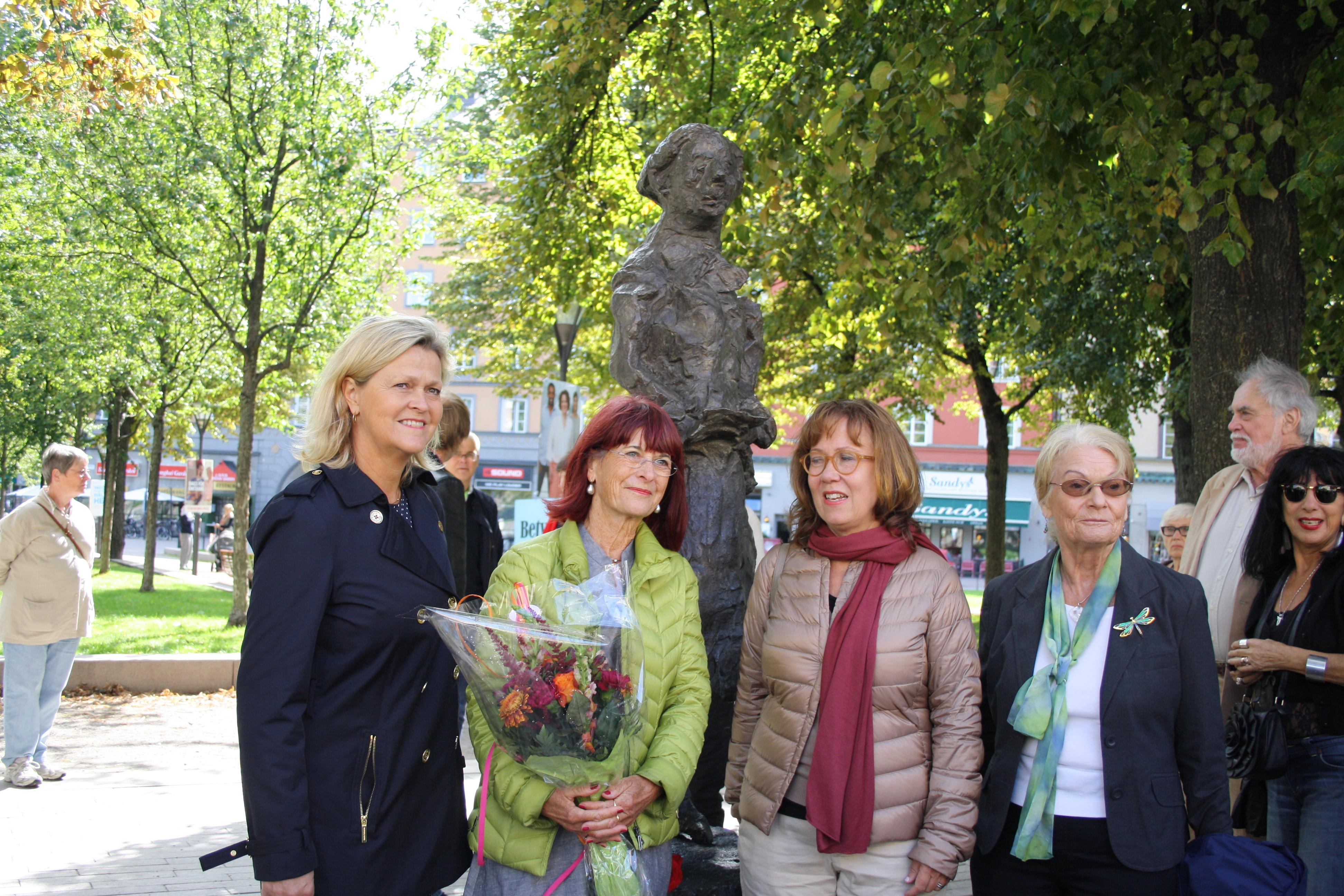 Lena Wibroe, Marianne Enge Swartz, Madeleine Sjöstedt, Eva Persson