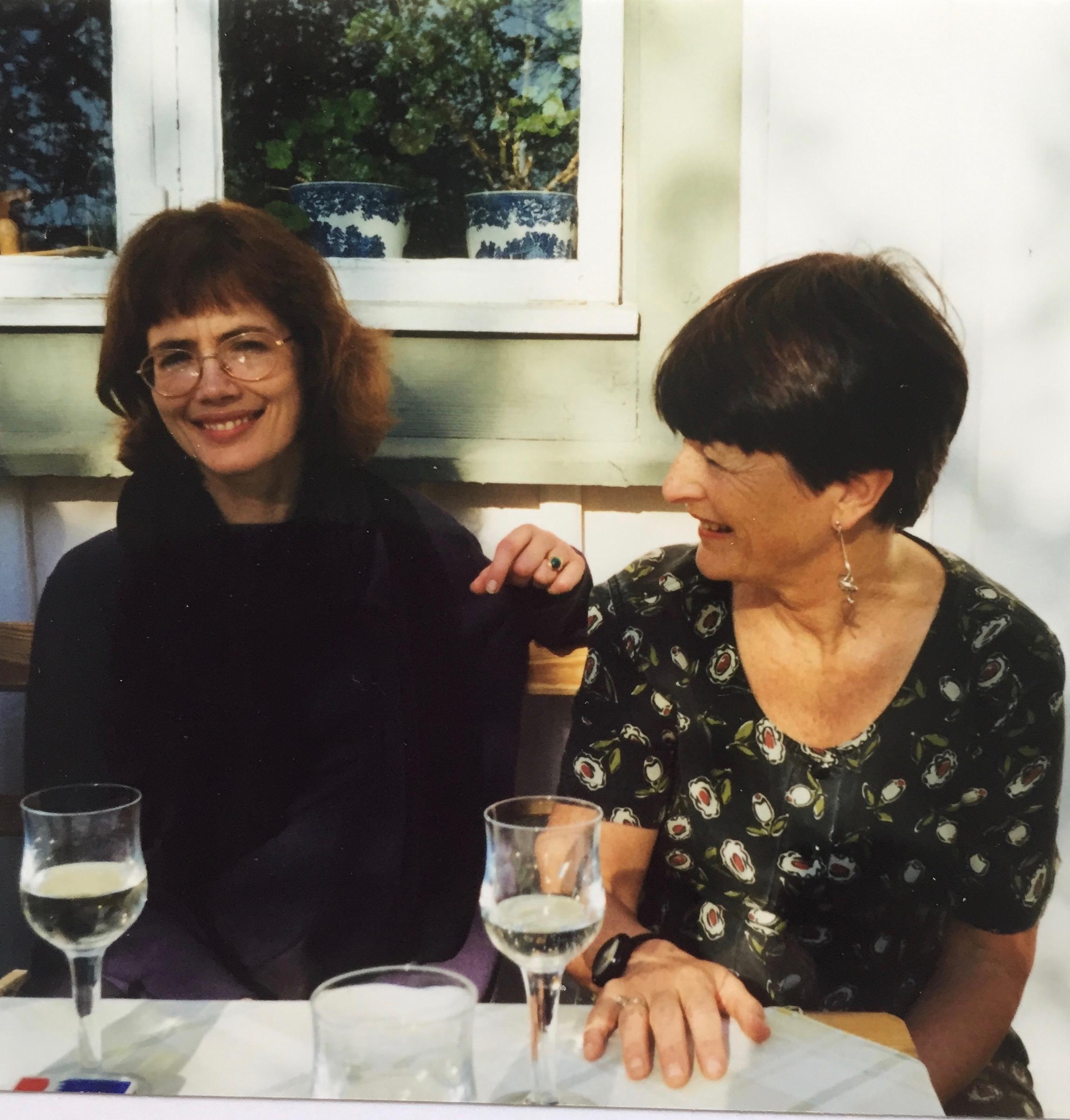 Marika Lagercrantz & Marianne Enge Swartz