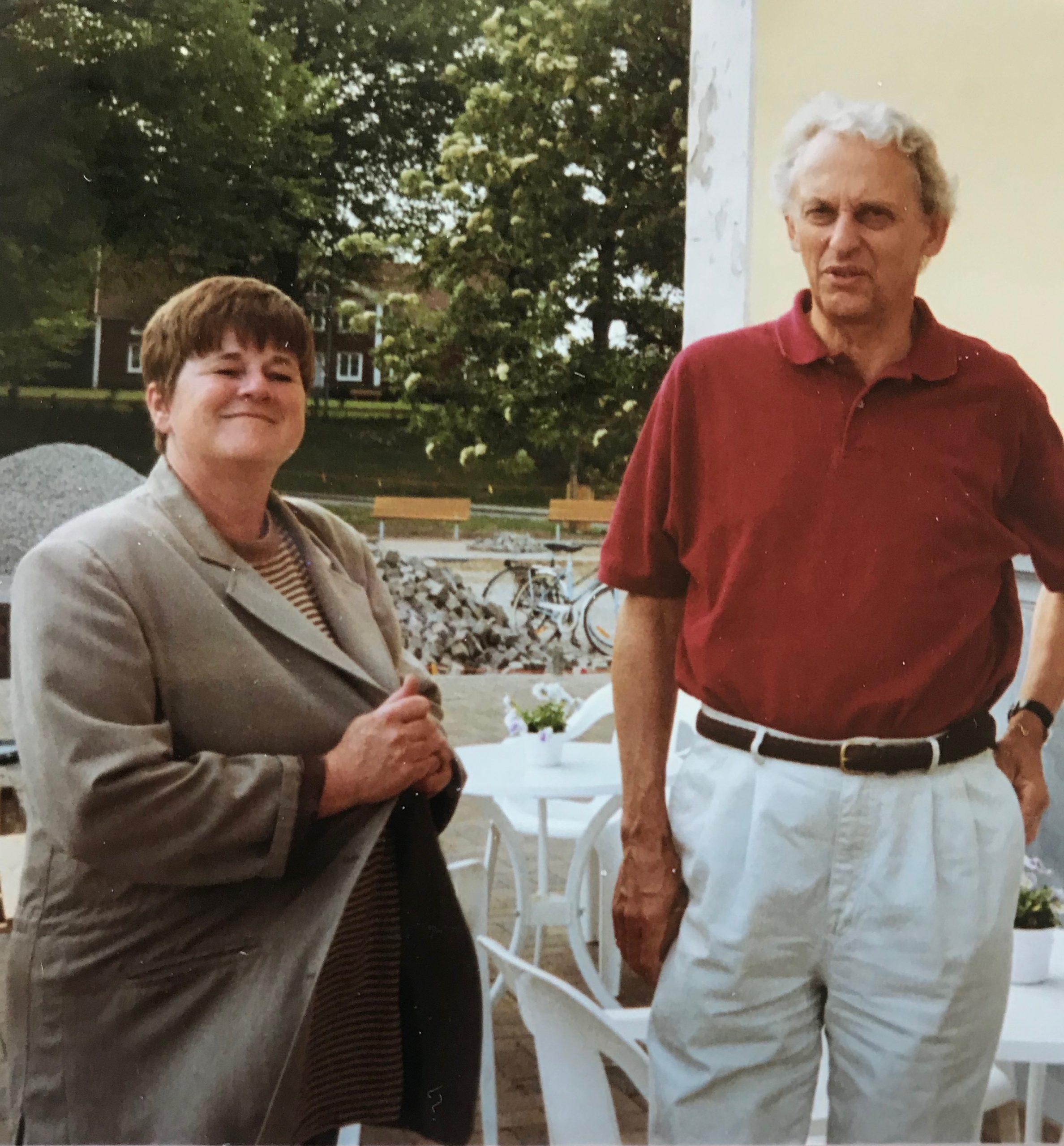 Solveig Hammarbäck och Per-Olof Swartz