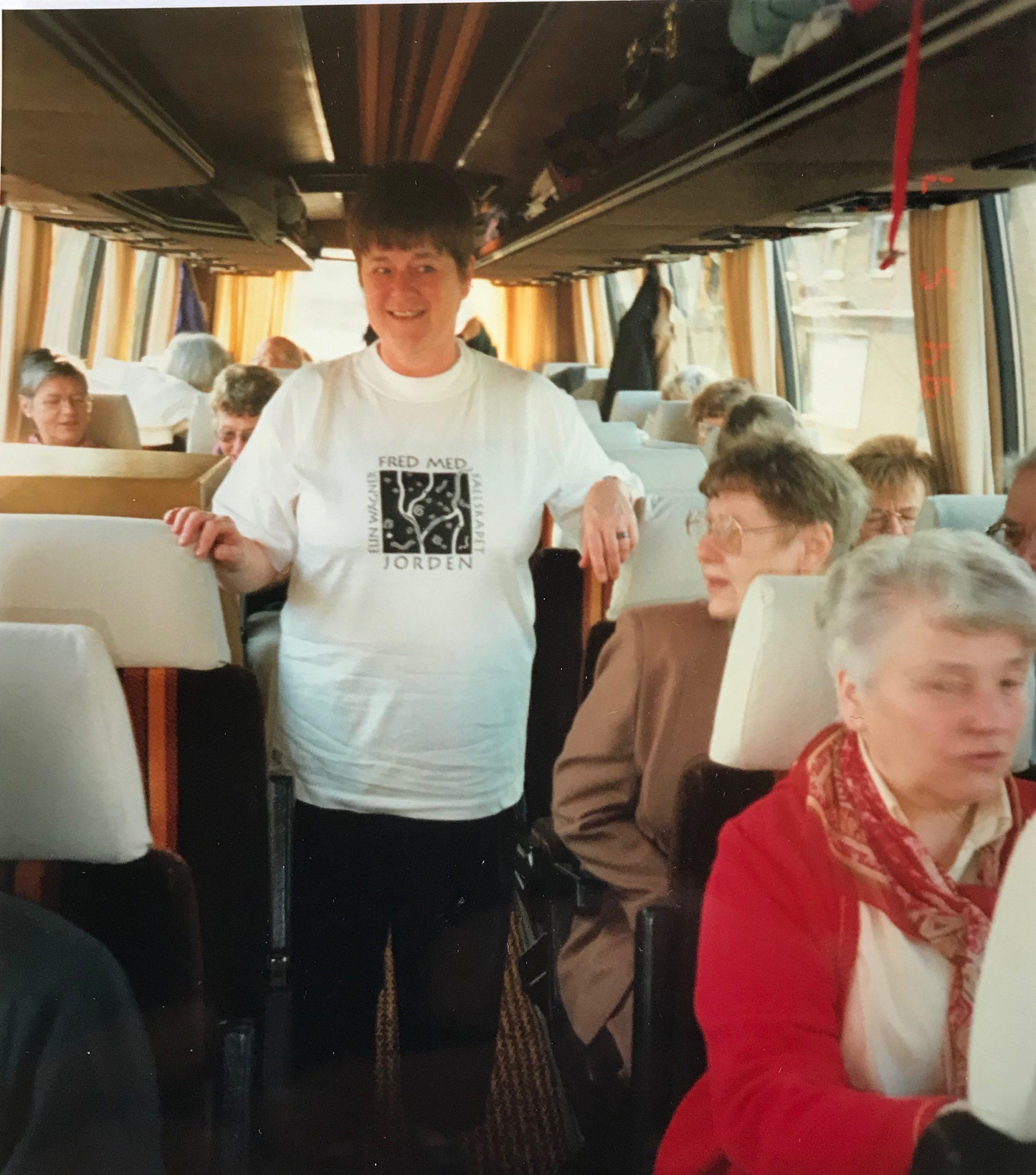 Bussresan med Solveig Hammarbäck som guide.